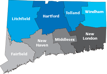 CT State Map
