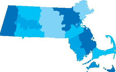 MA State Map