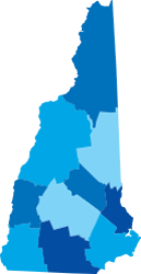NH State Map