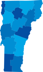 VT State Map